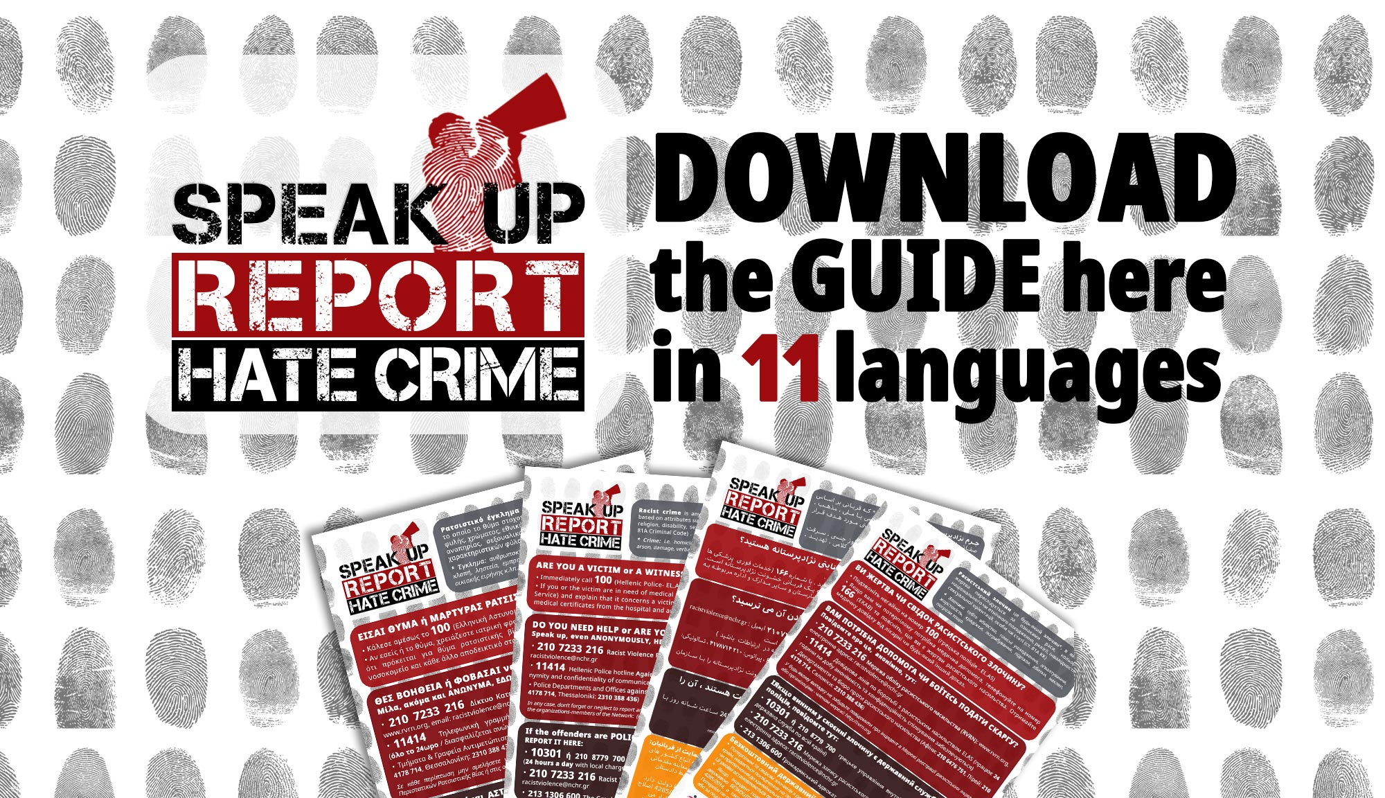 A Guide for reporting hate crime